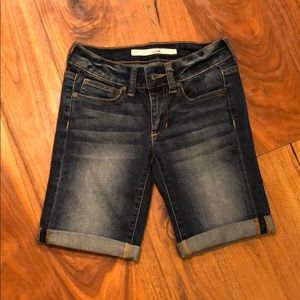 Like new, girls Joes jean shorts